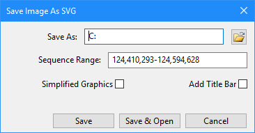 Save as SVG dialog