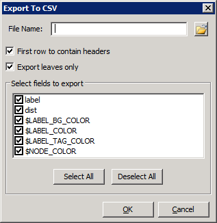 Export Tree Nodes to CSV 5